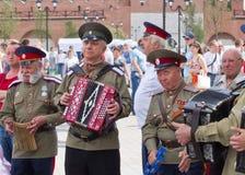 Tag von Russland in Tula Stockfoto