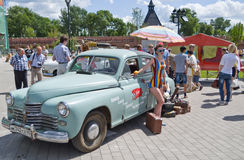 Tag von Russland in Tula Lizenzfreie Stockbilder