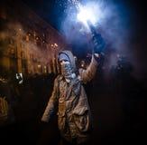 Tag von Würde und von Freiheit in Ukraine Stockfotos