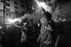 Tag von Würde und von Freiheit in Ukraine Stockfoto