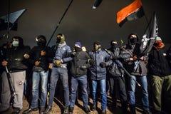 Tag von Würde und von Freiheit in Ukraine Lizenzfreies Stockbild