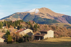 Taga peak in the catalan Pyrenees Stock Photography