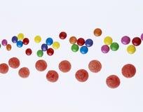 tagada φραουλών εξυπνάκιων καραμελών στοκ εικόνα