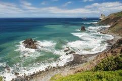 Taganana,特内里费岛 免版税库存图片