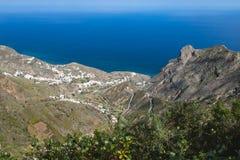 Taganana in the Anaga Mountains, Tenerife, Spain Royalty Free Stock Image