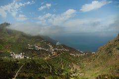 Taganana-Stadt, Teneriffa, Kanarische Inseln, Spanien lizenzfreies stockbild