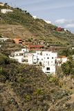 Taganana village. On the island of Tenerife, Canary Islands Spain. It´s a vertical picture stock photos