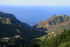 Taganana w Tenerife Zdjęcia Stock