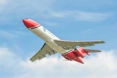 Tagande-av för OSRL Boeing 727 Royaltyfria Foton