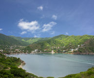 Taganga. A small fishing Village on the caribbean coast of Colombia Royalty Free Stock Photography