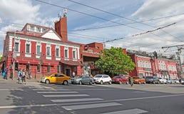 Taganka, Moscou imagem de stock