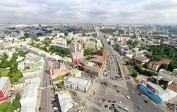 Taganskaya intersection Stock Images