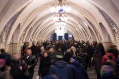 Taganskaya metro station Stock Image
