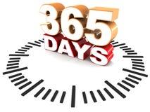 365 Tage Lizenzfreies Stockfoto