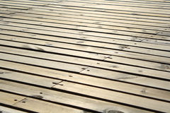 Étage en bois Photo libre de droits