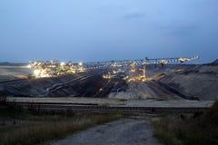 Tagebau minig Lizenzfreies Stockbild