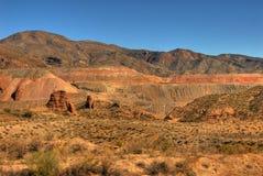 Tagebaugrube Stockfoto