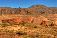 Tagebaugrube 3 stockbilder