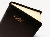 Tagebuch 1968 Lizenzfreies Stockbild