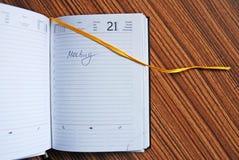 Tagebuch Lizenzfreie Stockfotografie