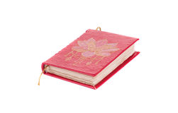 Tagebuch mit Weinleseabdeckung Lizenzfreie Stockbilder