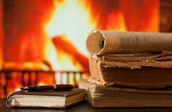 Tagebuch und Bücher Lizenzfreies Stockbild