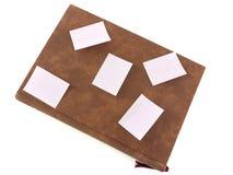 Tagebuch- und Papieranmerkungen Stockfotos