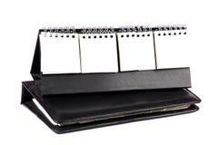 Tagebuch und Planer Stockbild