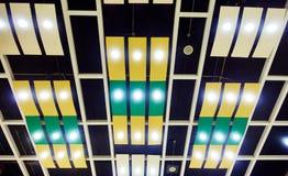 tagen mörk lighting för bakgrundstak Royaltyfri Fotografi