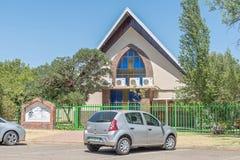 7. Tagesadventistische Kirche in Universitas in Bloemfontein Stockfotografie