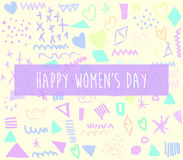Tagesdesign der Frauen-s Lizenzfreie Stockbilder