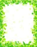 Tageshintergrund/-rand Str.-Patricks Lizenzfreies Stockfoto