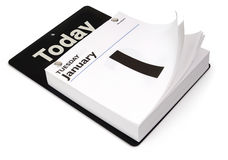 Tageskalender lizenzfreies stockfoto