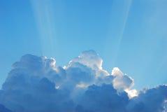 Tageslicht und die Wolke Lizenzfreie Stockfotografie