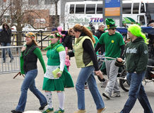 Tagesparade Ottawa Str.-Patricks Lizenzfreies Stockfoto