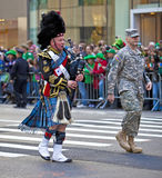 Tagesparade Str.-Patricks Lizenzfreie Stockfotos