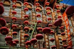 Tagesreise zu Chinatown in San Francisco California Lizenzfreie Stockfotos