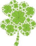 St Patrick Tagesshamrocks - Vektorillustration lizenzfreie stockfotos