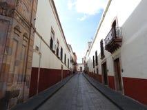 Tagesszene bei San LuÃs Potosà im Stadtzentrum gelegen stockfoto