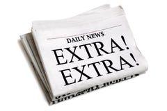 Tageszeitung Lizenzfreies Stockfoto
