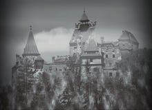 Taget i kli, Rumänien Arkivbild