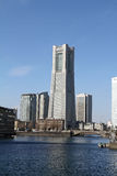 taget torn 2011 för landmark fjäder yokohama Royaltyfria Foton