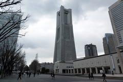 taget torn 2011 för landmark fjäder yokohama Arkivfoton