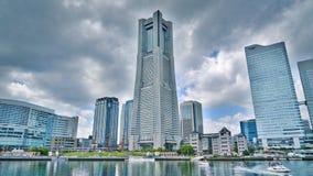 taget torn 2011 för landmark fjäder yokohama royaltyfri bild