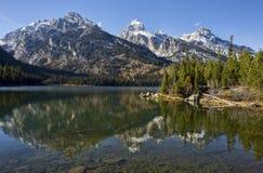 Taggart Lake Royaltyfri Foto