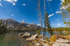 Taggart Lake in Fall Stock Photos