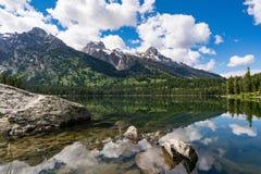 Taggart Lake, Grand Teton National Park royalty free stock photography
