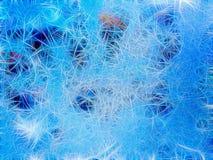 Taggig abstrakt bakgrund av kulöra fina visare Arkivfoto