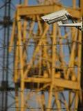 taggtråd arkivbild