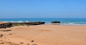 Taghazout beach Stock Photo